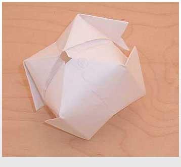 Капитошка сделать из бумаги