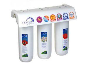 Водяные фильтры гейзер