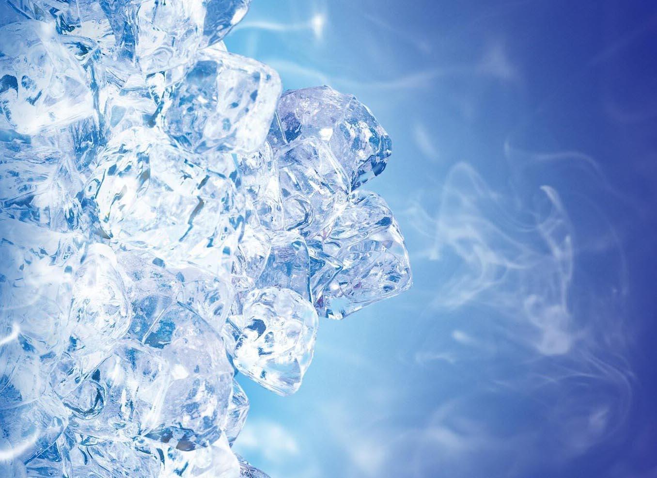 Лёд испаряется