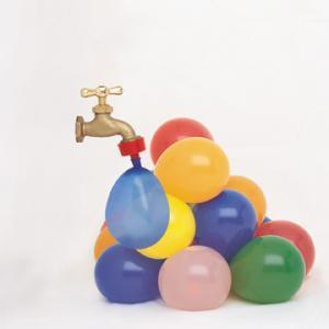 Водяные бомбочки из шариков