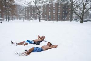 Снег здоровье
