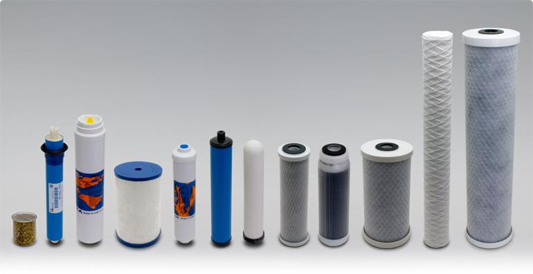 Какие бывают картриджи для фильтра Новая вода