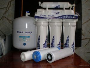 Фильтры для живой воды