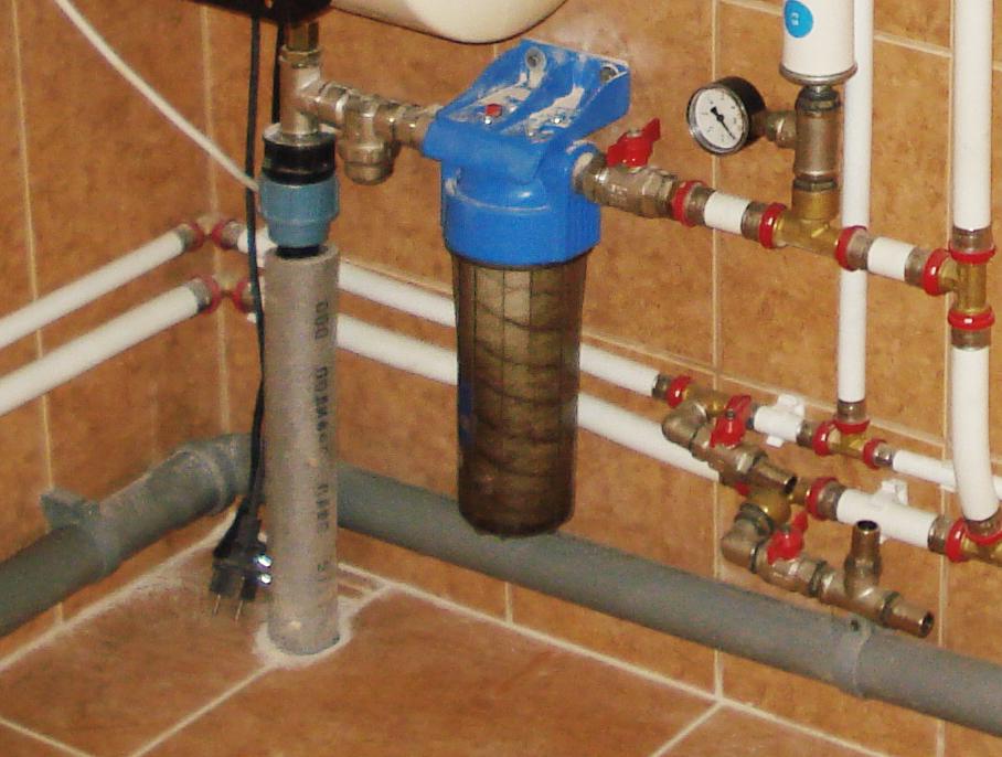 Магистральные фильтры на воду