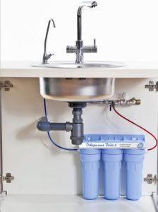 Проточные фильтры для воды как выбрать