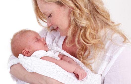 Ревенок заглотнул фекалии во время родов